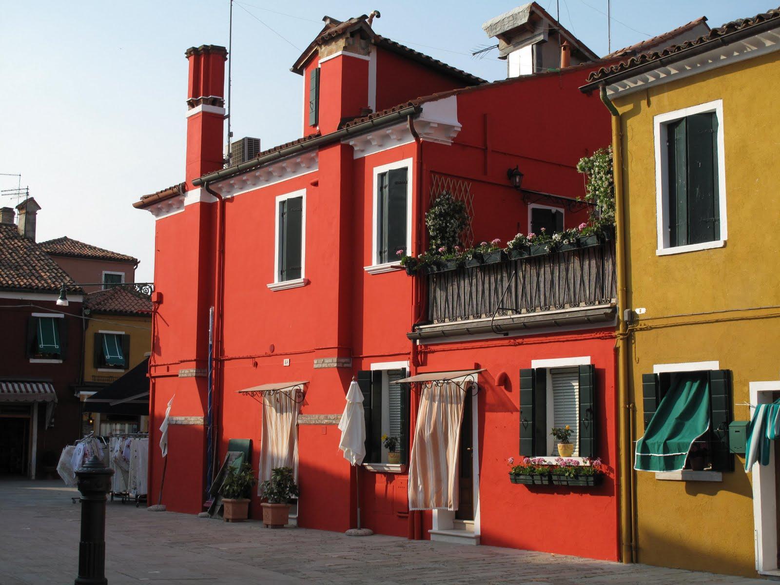 Fin de semana en venecia mi espacio del arte for Colores para pintar una casa pequena por fuera